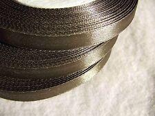 1 Roll 25 Yards Sage 10 mm=3/8'' Satin Ribbon Sewing Clothes/Card/Dress Making