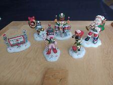 Garfield's Christmas Band Danbury Mint 6 Figurines Super Duper Rare! 😅