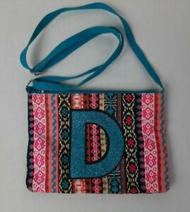 Justice Girl's Purse D Initial
