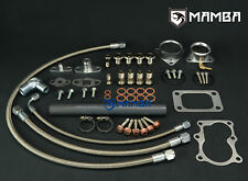 MAMBA Turbo Oil & Water Line Install Kit For Nissan TD42 GU Patrol Hitachi HT18