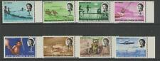 BRITISH SOLOMON IS. SG166/75a 1971 GLAZED PAPER DEFINITVE SET MTD MINT
