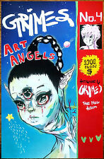 GRIMES Art Angels Ltd Ed Discontinued RARE Poster +Indie Pop Rock Poster Visions