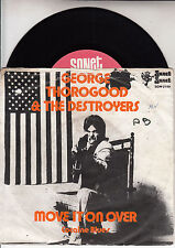 GEORGE THOROGOOD  Move It On Over & Cocaine Blues PICTURE SLEEVE 45 record RARE
