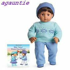 Brand New In Box Hard To Find  American Girl Bitty Twins Boy Isle Sweater Set