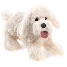 Folkmanis Panting Dog Hand Puppet Plush