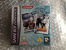 BRAND NEW SEALED CASTLEVANIA DOUBLE PACK  HARMONY OF DISSONANCE + ARIA OF SORROW