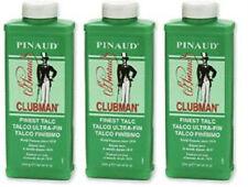 3X Clubman Pinaud FINEST Talc Powder 9 oz - PRIORITY Shipping