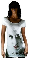 2.Wahl AMPLIFIED LADY GAGA Face Picture Rock Star Longshirt Tunik ViP T-Shirt S