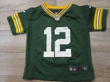293f11b58 Aaron Rodgers  12 Green Bay Packers Nike NFL Jersey Toddler 3T