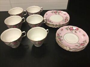 Vintage Tea Set Colclough For 6