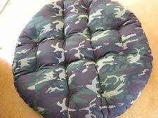 "Papasan Cushion - soft and cozy,  amazing fabrics, 50-52"""