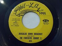The Fantastic Johnny C Boogaloo Down Broadway / Look What Love Can Vinyl Record