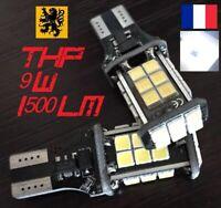 2x T15 W16W LED THP ⚠️ 1500lm 24SMD 6000k BLANC 12V 9W⚡️ANTI ERREUR🚫 HIGH POWER
