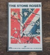 """Vintage The Stone Roses LP Rock Band Sticker 2 3/4"""" x 5"""" +"""