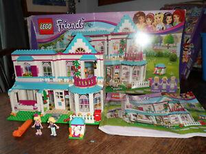 RARE BOXED LEGO FRIENDS STEPHANIES HOUSE 41314