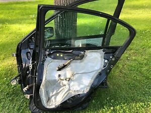 2008-2012 Honda Accord Passenger Front & Rear Door Electric Sdn EX LX Black  OEM