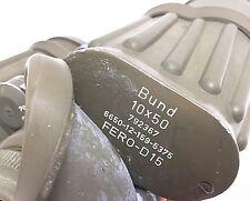 Zeiss Hensoldt Fero D15 10x50 binoculars Dienstglas German Army officer item GAK