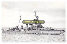 rp10078 - Royal Navy Warship - HMS Curacoa D41 , built 1918 - photo 6x4