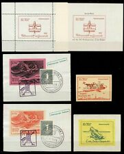 "Germany Rocket Mail - 6 Different pieces including Labels / ""Sonder-Block"""
