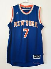 NEW YORK KNICKS NBA BASKETBALL JERSEY CARMELO ANTHONY #7 ADIDAS Mens Size Large