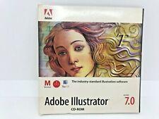 ADOBE ILLUSTRATOR 7.0 Application & Tutorial CDs for Macintosh