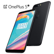"OnePlus 5T 6.0"" 6GB/128GB Black Dual 20MP Octa Core Android Phone by Fed-ex"