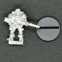 Warhammer 40k Space Marine Scout Sniper Rifle Metal OOP 1997