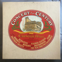 Concert of the Century Carnegie Hall New York Phil Columbia Box Set Vinyl LP VG