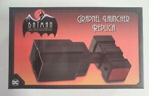 NECA NEW Batman The Animated Series Grapnel Launcher Replica In Hand