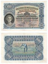 More details for switzerland 100 franken banknote (1927) p.35d - ef.