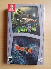 Turok & Turok 2 Seeds of Evil, Limited Run #43 & #44: Nintendo Switch, NEU , NEW