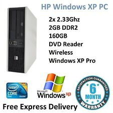 CHEAP HP Windows XP Small Form PC Computer - 2.33Ghz | 2GB | 160GB | Wireless