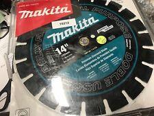 Makita Diamond Saw Blade Concrete Asphalt Brick Block Cutting Segmented 14 Inch