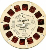 Vintage View-Master Reel - Previews of Entertainment ! #DR-77 - c. 1976