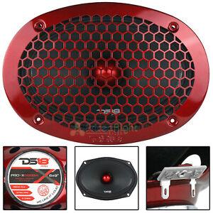 "DS18 6x9"" Midrange Loudspeaker 8 Ohm 550 Watts Max Car Audio PRO-X698BM"