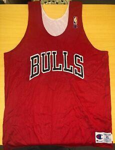 VTG Champion Chicago Bulls reversible jersey
