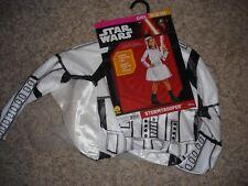 Star Wars Stormtrooper Halloween Costume youth girls size M 8/10 Rubies 630126