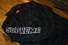 supreme chequered nylon pullover