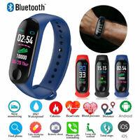 M3X Smart Watch Heart Rate Blood Pressure Monitor Sports Tracker Bracelet