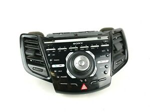 Ford Fiesta Mk7 SONY Radio Phone AUX CD Player Sound Control Panel C1BT-18K811