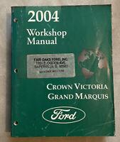 2004 Ford Crown Victoria Grand Marquis Workshop Manual OEM
