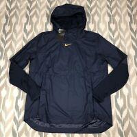 Nike Mens Lightweight Pullover Running Sweater Media Pocket Size L AO5973-423