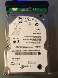 "Seagate 100 GB 2.5"" Hard drive SATA excellent Apple drive"