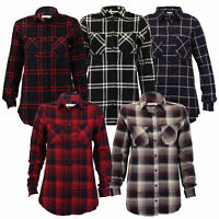 ladies shirt Brave Soul womens checked tartan blouse long sleeved summer new