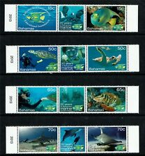 Bahamas 2013 Marine Life (BREEF) 8v set MNH