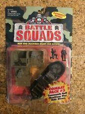 BATTLE SQUADS MULTI-FORCE MILITARY COMBAT PACK#3 COMMANDO RAFT MOC Galoob HASBRO