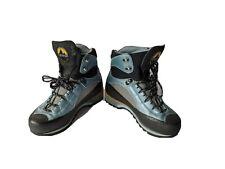La Sportiva Trango S EVO GTX Mountaineering Boots Blue 37.5 (US Womens 6.5)