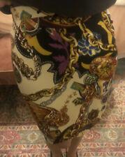 Kenzo Paris Vintage Patterned skirt  Sz 38