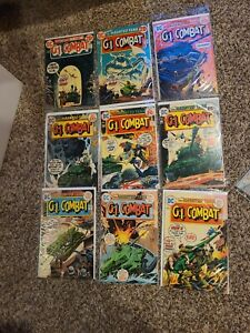 GI Combat 30 Issue Lot Joe Kubert 160-203 DC War Comics