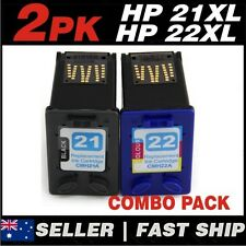 Set of 2 Ink Cartridges Combo for HP 21 22 21XL 22XL HP21 HP22 C9351CA C9352CA